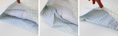 Envelope Closure Pillow Case