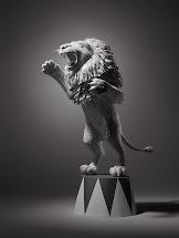 Simply Creative Hotel Receipts Lion Sculpture Kyle Bean