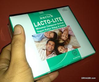 Nurich Lactolite untuk atasi masalah sembelit