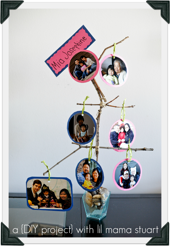 making a family tree poster