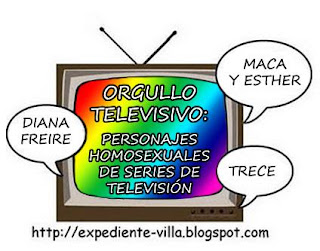 personajes homosexuales series television