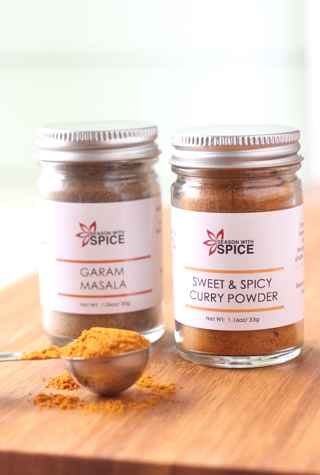 Sweet & Spicy Curry Powder and Garam Masala from SeasonWithSpice.com