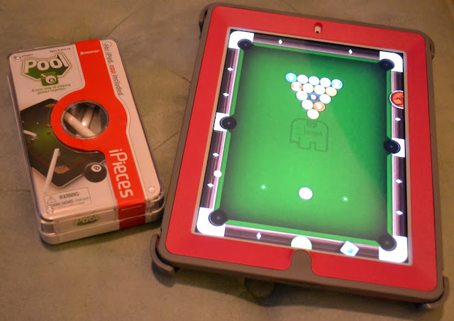 iPieces, Pool, iPad, App, Game