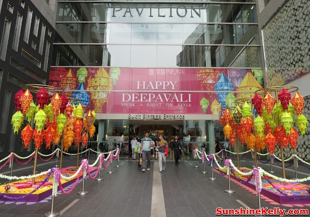 Deepavali, Pavilion KL, festival of light, kolam, making kolam