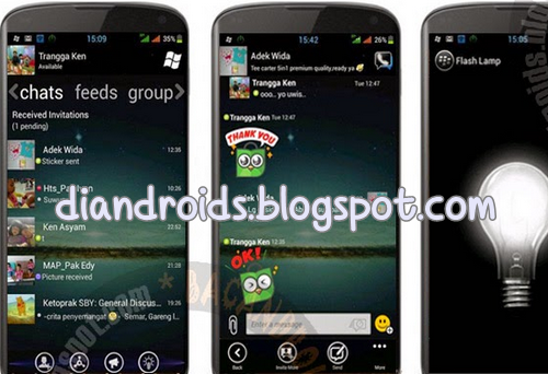 tema bbm mod windows phone minimalis background terbaru 2.5.46
