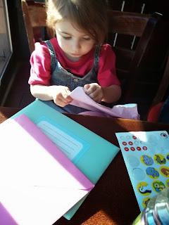 eldest opens cards