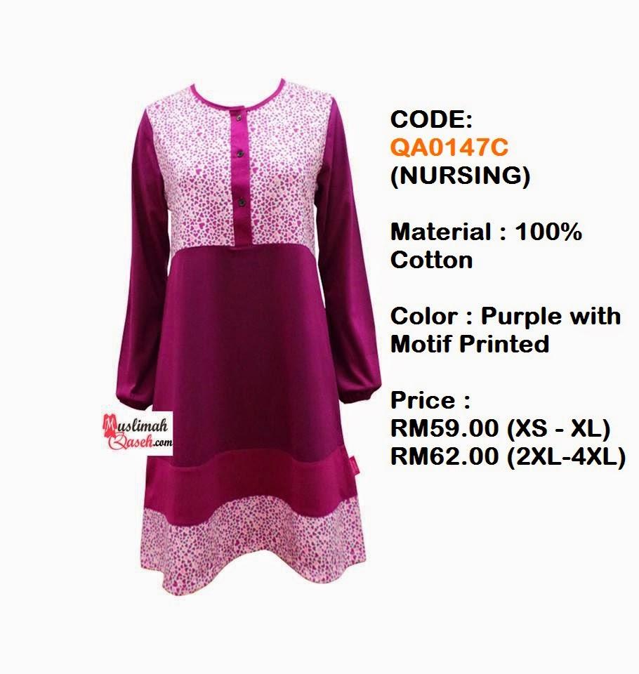 T-Shirt-Muslimah-Qaseh-QA0147C
