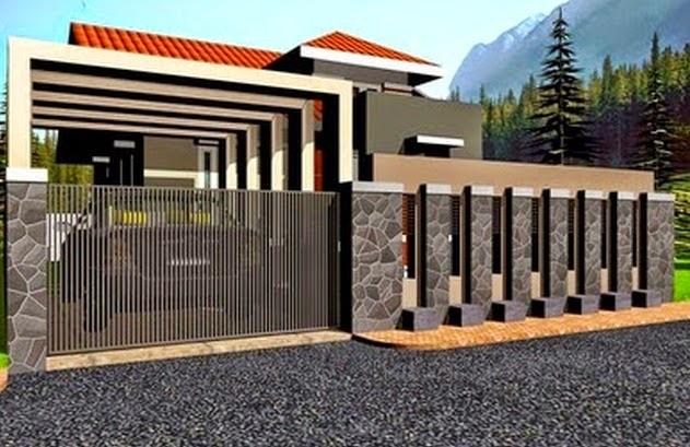tips mudah memilih pagar rumah minimalis berbagi