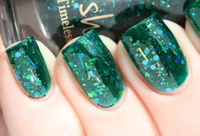 Manicurity   Pahlish El Topo Petit and Toxic and Timeless (Version Two) - Swatches & Review