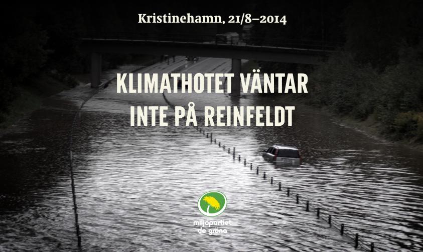 Klimathotet väntar inte på Reinfeldt