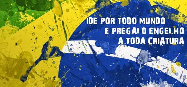 IDE POR TODO O MUNDO E PREGAI O EVANGELHO A TODA CRIATURA!!