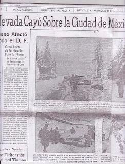 NEVADA en la Ciudad de México en 1967
