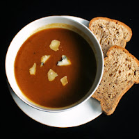 Spiced Pumpkin Soup from Happy Baking Days