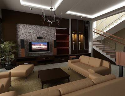 desain interior rumah sederhana - desain gambar furniture