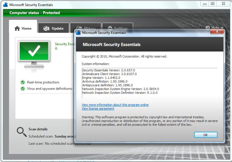 microsoft essentials antivirus free  full version 2012