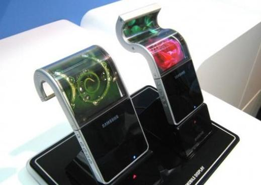 Samsung Shows Off Flexible AMOLED Screen