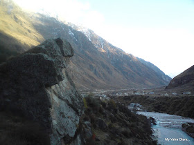 Breathtaking scenes and scenary in the Mana village near Badrinath