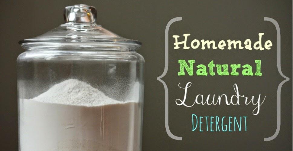 Making Natural Laundry Detergent Powder