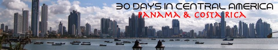 30 Days In Central America (Costa Rica & Panama)