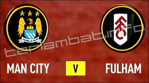 City VS Fulham Liga Inggris 2013