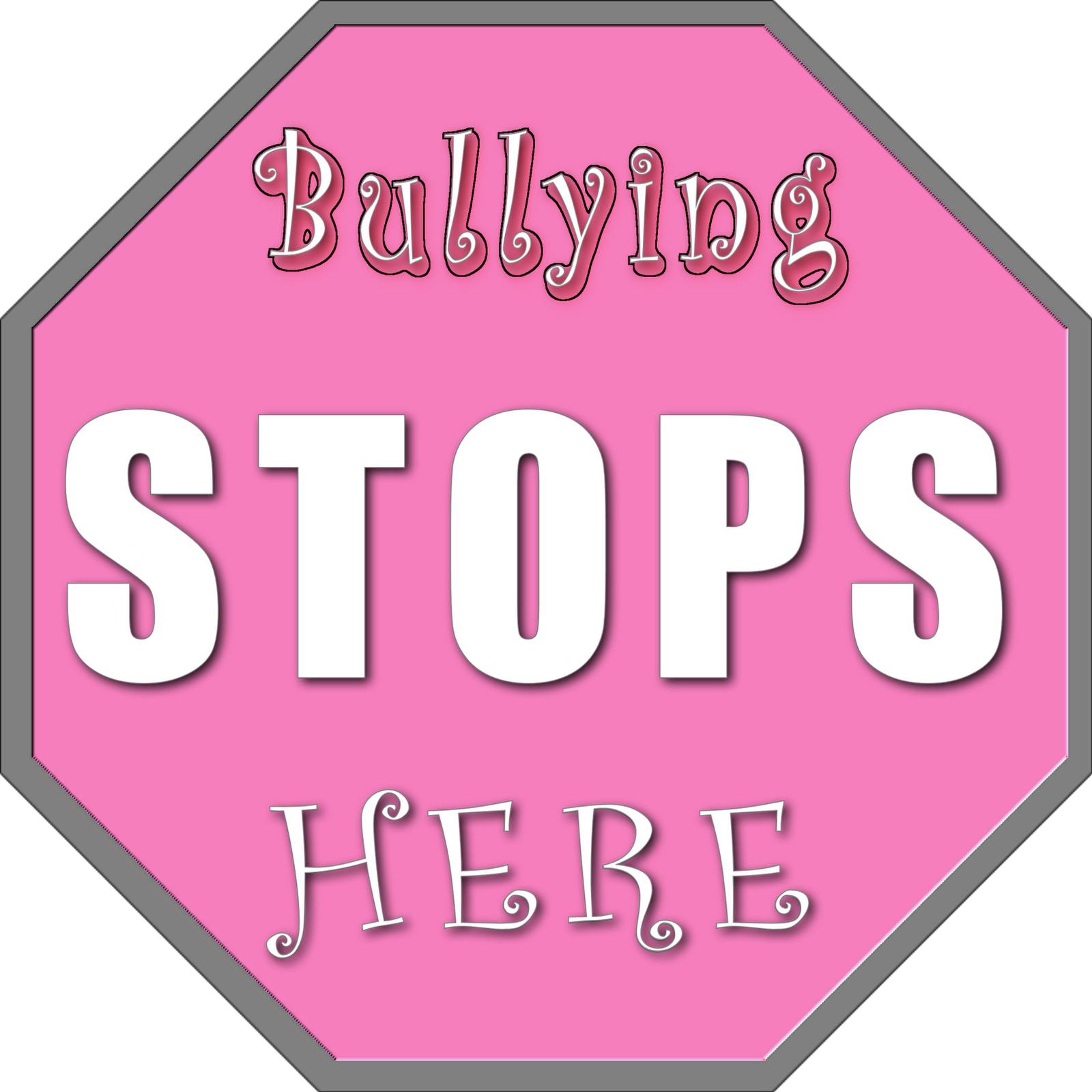 Pink Shirt Day - The Bullying Stops Here: Pink Shirt Day Logos