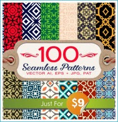 100 Patterns Just For $9