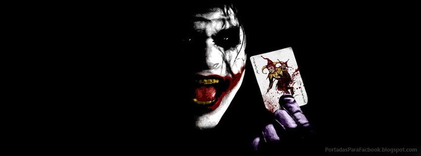 El Joker presentandose | Portadas para Facebook