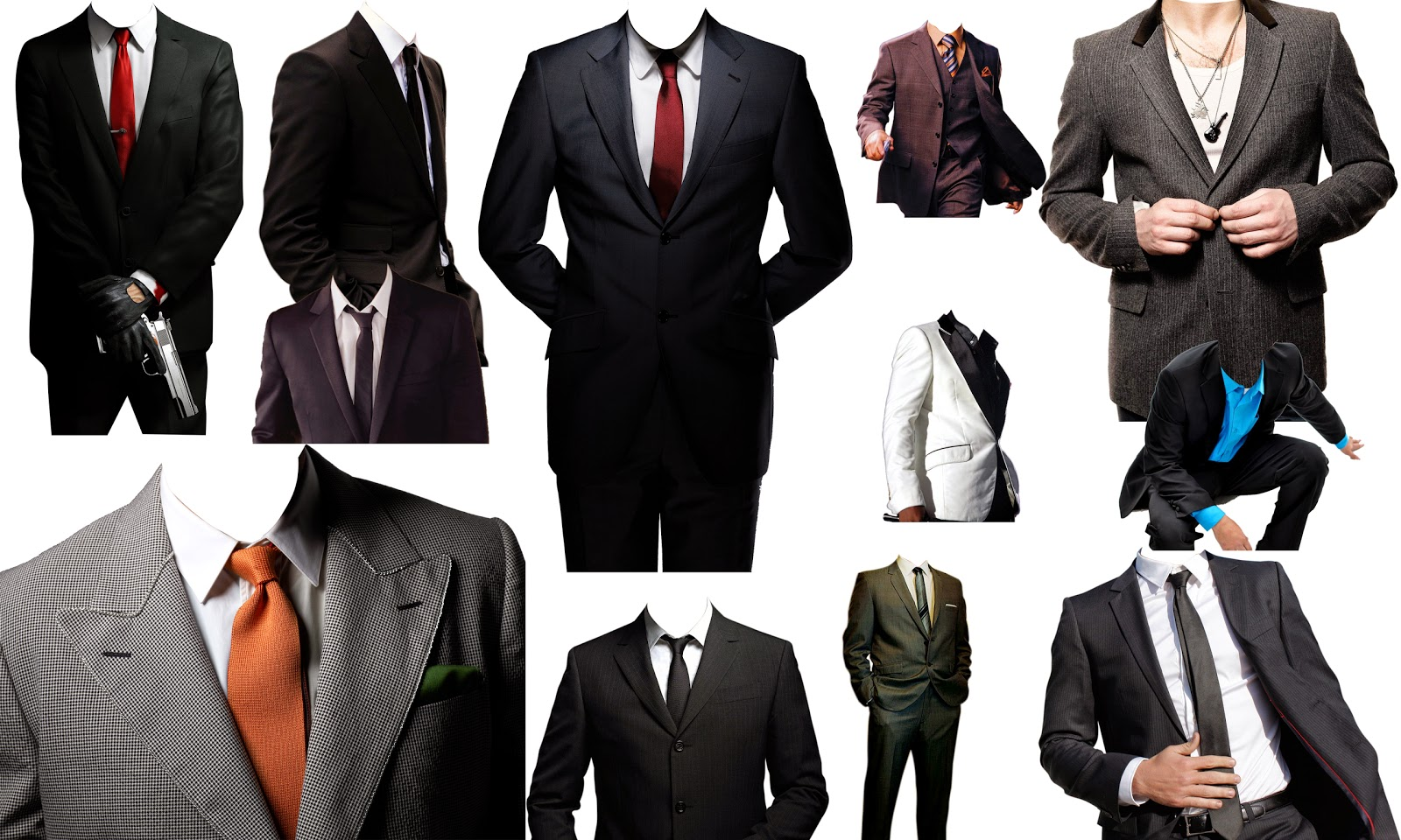 Photoshop Mens Dress Templates 74
