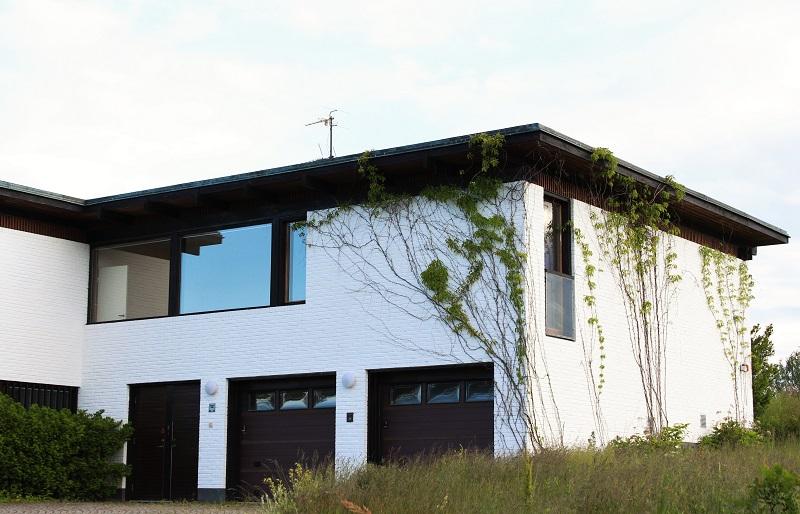 arkkitehdin suunnittelema talo ruotsissa