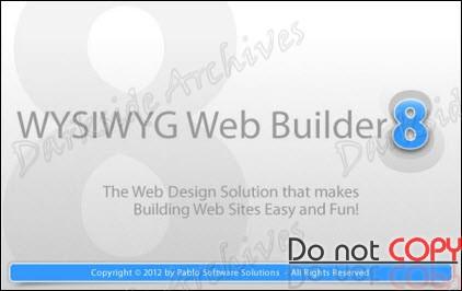 WYSIWYG Web Builder v8.2 - Español/Ingles - Construye tu propia página web.
