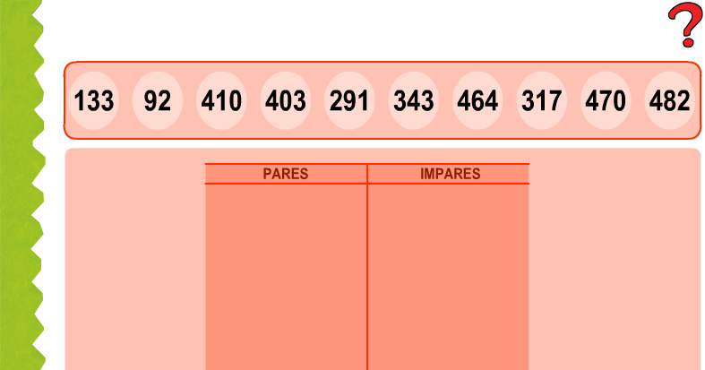 Resultado de imagen de numeros pares e impares anaya
