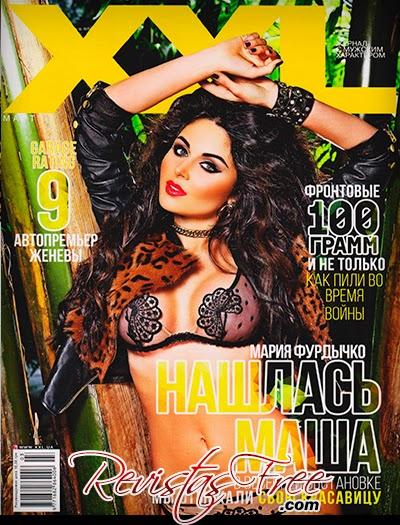 XXL Ukraine - Maria Furdychko - Março 2014