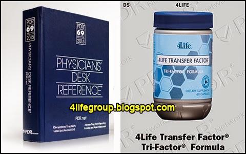 foto Produk 4Life Transfer Factor® Disenaraikan dalam PDR 2015