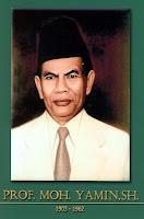gambar-foto pahlawan nasional indonesia, Prof.DR. SMohammad Yamin