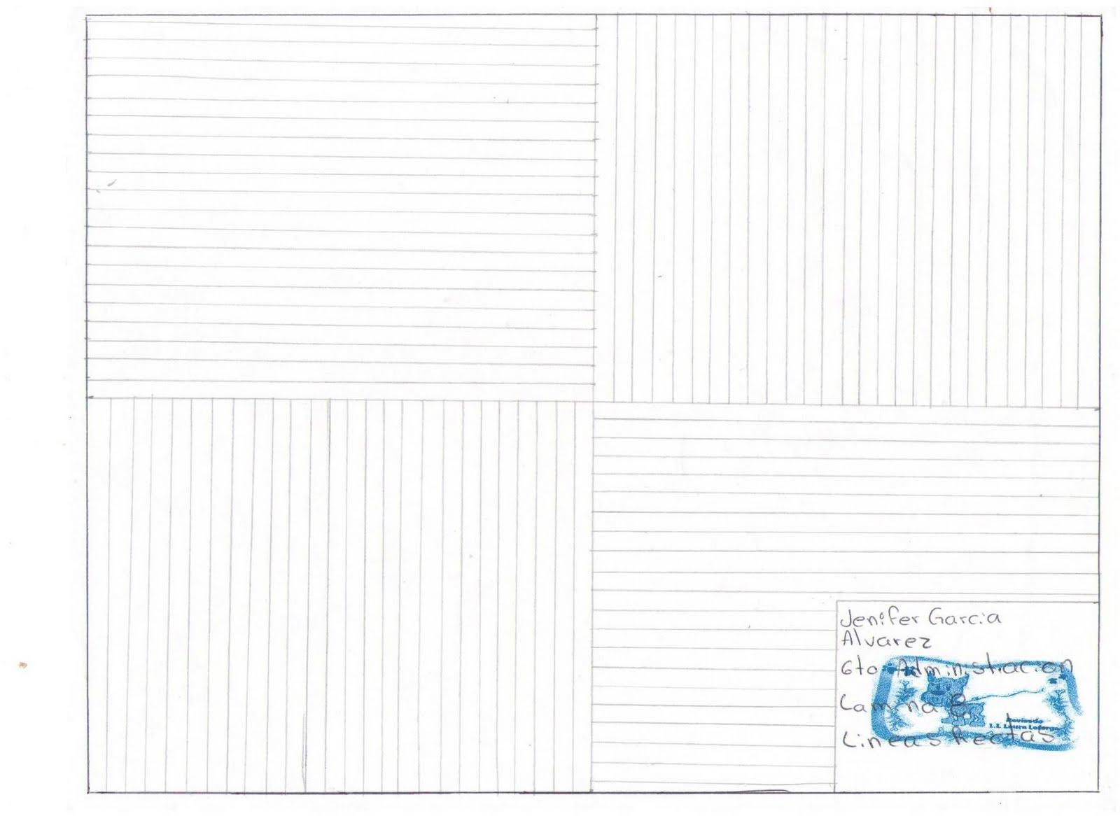 Clase de Dibujo tecnico Lineas Rectas