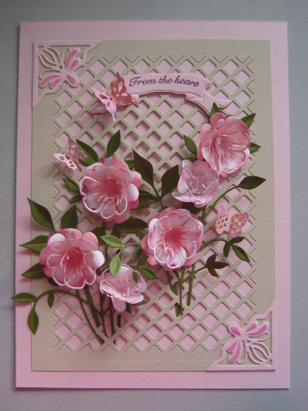 Card Making Ideas With Flowers Part - 16: Two More Cards