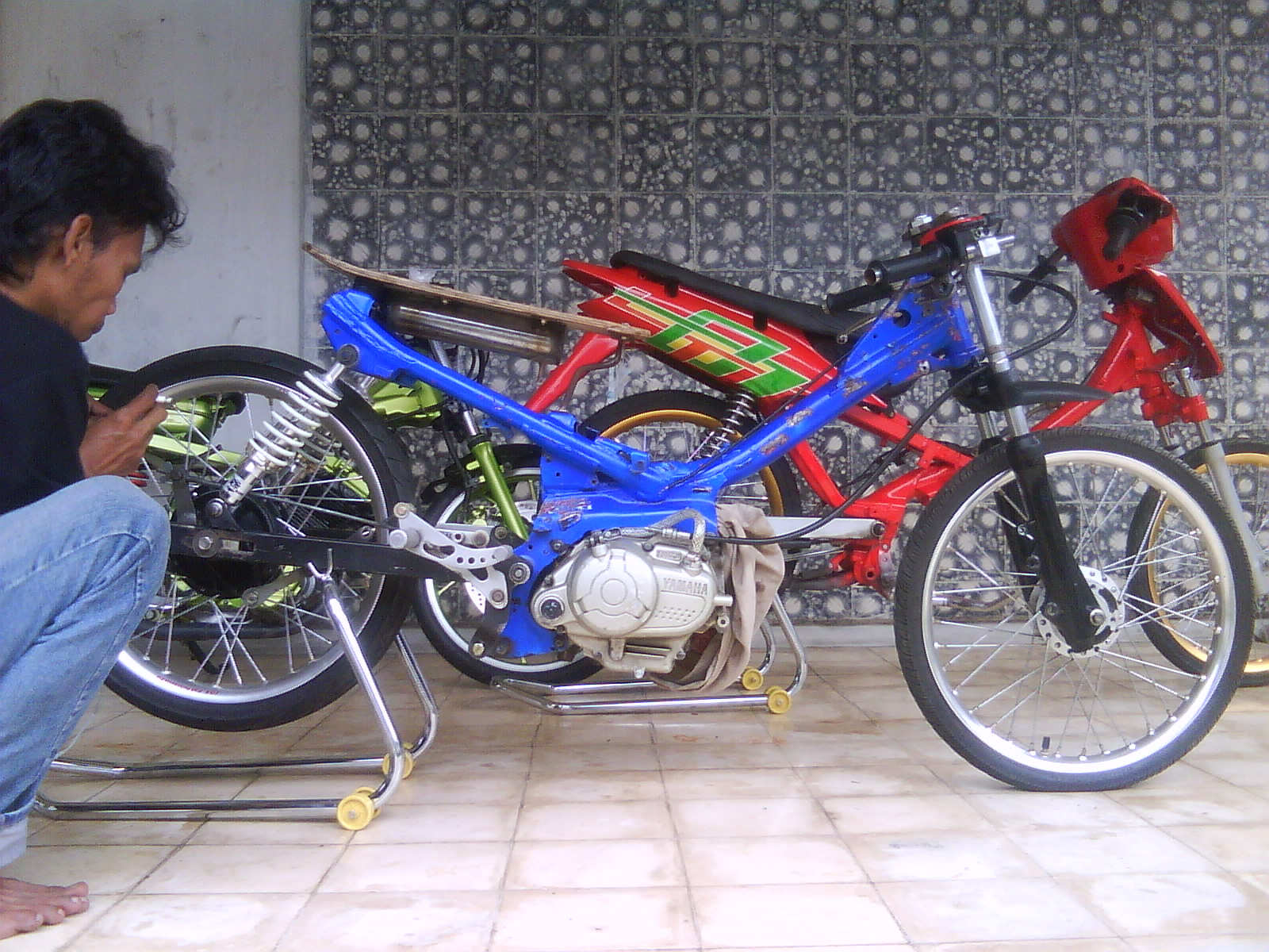 Foto ninja drag bike 2