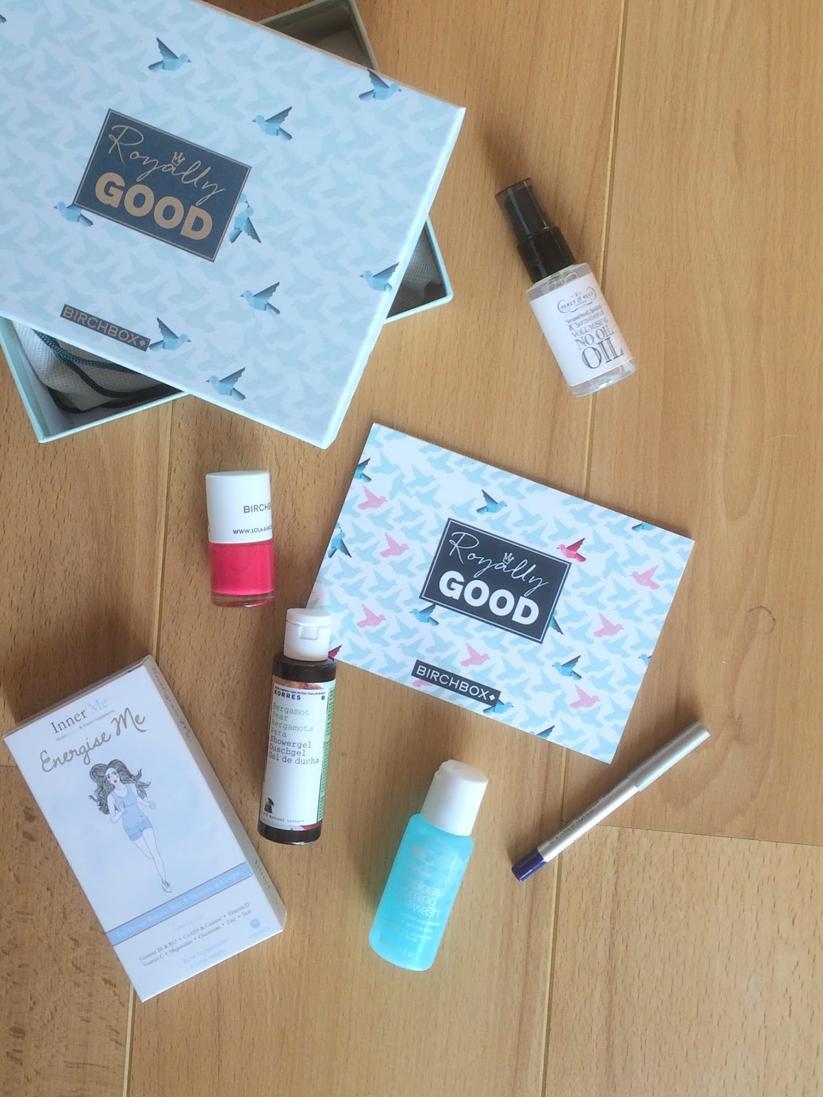 birchbox april royally good