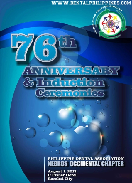 Negros Occidental Dental Chapter 76th Anniversary