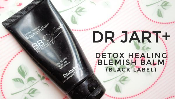 Dr Jart+ Black Label Detox Healing Blemish Balm