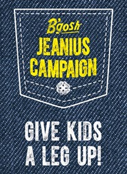 Worthy cause! OshKosh Jeanius Campaign - Give Kids a Leg Up! #OshKoshFirstDay