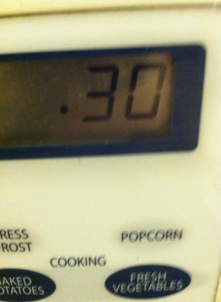 Cooking banana squash in the microwave