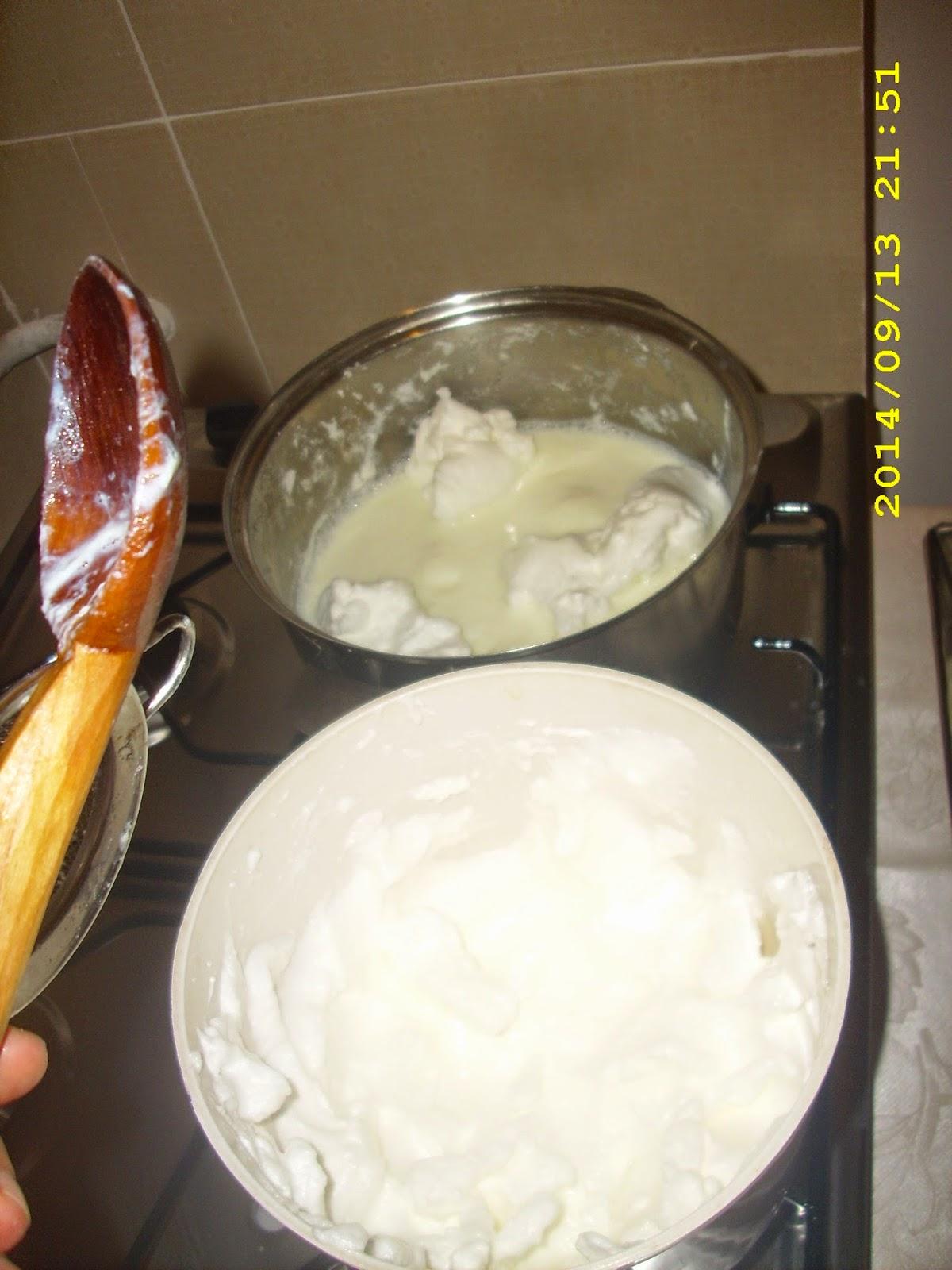 Fierbere galuste lapte pasare