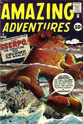 Amazing Adventures  #6, Sserpo