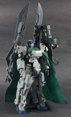 Kotobukiya Frame Arms: Type 32 Model5R-Ex Zen-Rai with Assault Unit and Buster Sword Aramament