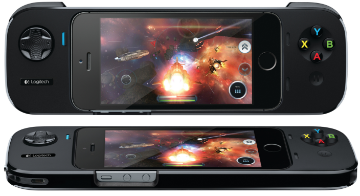 iPhone Game Controller with Apple's MFI Configurations: Logitech Power Shell