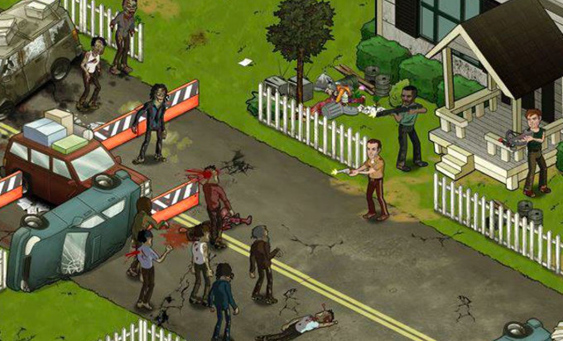 walking dead game online facebook