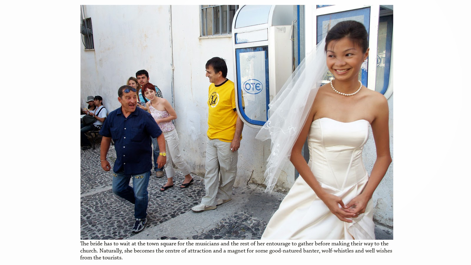 wedding photography singapore santorini street
