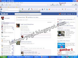 Trik Membesarkan Tampilan Facebook