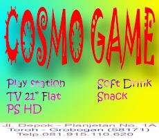 COSMO GAME Alamat